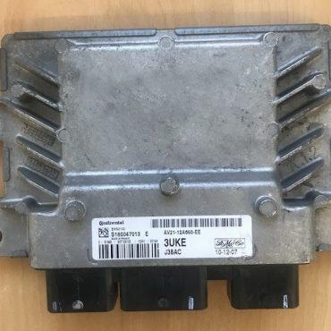 Ford Fiesta 1.4, EMS2102, J38AC, S180047013E, S180047013 E, AV21-12A650-EE, 3UKE