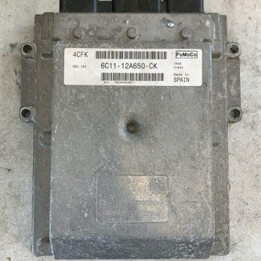 Ford Transit 2.4TDCi Engine ECU, 6C11-12A650-CK, DCU-104, 4CFK