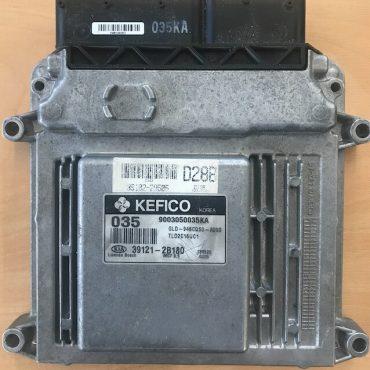Kefico Engine ECU, Kia, 9003050035KA, 39121-2B180, 035, MG7.9.8