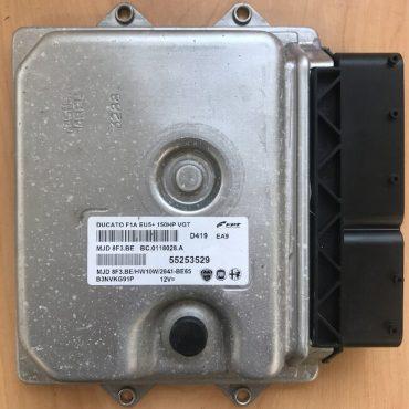 Magneti Marelli Engine ECU, Fiat Ducato 2.3, FPT, MJD 8F3.BE, 55253529, BC.0118028.A