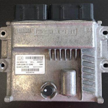 Delphi Engine ECU, PEUGEOT - CITROEN, 9692366180, 28555221, HW 9809447780, DCM6.2C