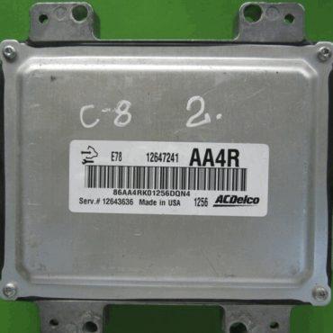 Vauxhall, Opel, 12647241, AA4R, E78, 12643636