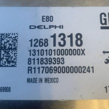 Vauxhall, Opel, 12681318, 1310101000000X, 811839393, E80, 12669908