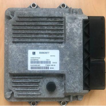 Magneti Marelli Engine ECU, MJD 6O2.W1, 55563977, 71600.148.00