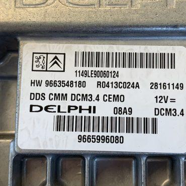 PEUGEOT/ CITROEN, HW 9663548180, 28161149, 9665996080, DCM3.4