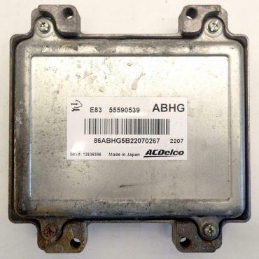 ACDelco Vauxhall Corsa 1.2 Engine ECU, 55590539, ABHG, E83, 12636386