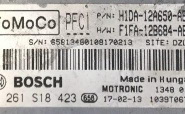 Ford, 0261S18423, 0 261 S18 423, H1DA-12A650-AB, F1FA-12B684-AEB, PFC1, 1039T06742