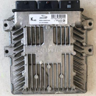 Siemens Diesel Engine ECU, Jaguar 2.7 V6, SID204, 5WS40535I-T, 8X2Q-12A650-KAG, 5WS4035IT, KAG