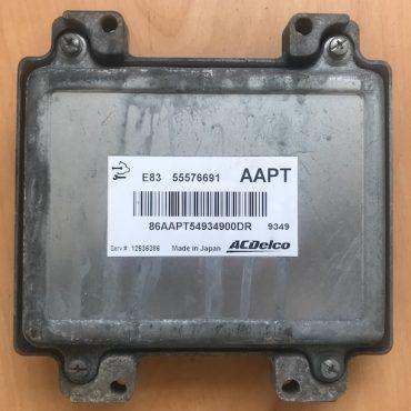 Vauxhall Corsa 1.2 Engine ECU, 55576691, AAPT, E83, 12636386