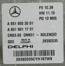 Mercedes, A6519003001, A 651 900 30 01, A6519011701, A 651 901 17 01, CRD3.60, OM651, 28392035