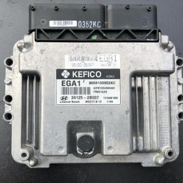 Kefico Engine ECU, Kia/Hyundai, MEG 17.9.12, 9003100352KC, 39129-2B007, EGA1