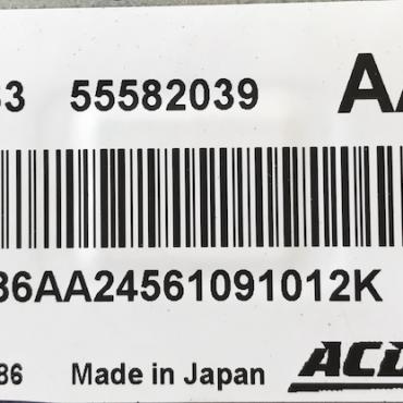 ACDelco Engine ECU, 55582039, AA24, E83, 12636386
