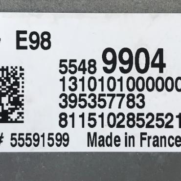 ACDelco Engine ECU, Vauxhall Corsa 1.2, 55489904, 1310101000000X, 395357783, 55591599, E98