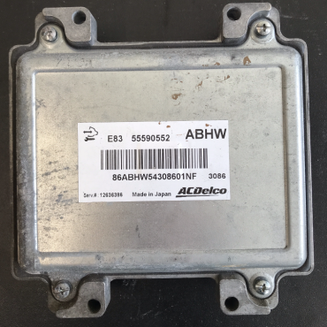 ACDelco Engine ECU, Vauxhall Corsa 1.4, 55590552, ABHW, E83, 12636386
