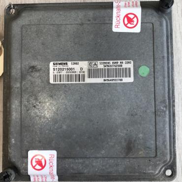 Siemens Gearbox ECU, S120215001, SW9652762580, HW9648922780, SIM82